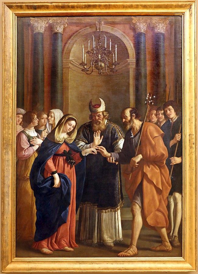 Lo Sposalizio della Vergine, Bartolomeo Gennari