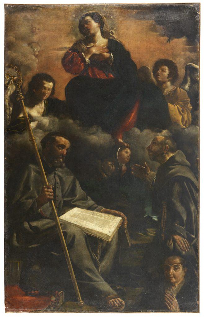 San Bonaventura e l'Assunta, Benedetto Zallone